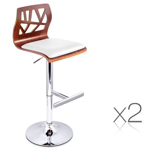 Wooden Bar Stool Set
