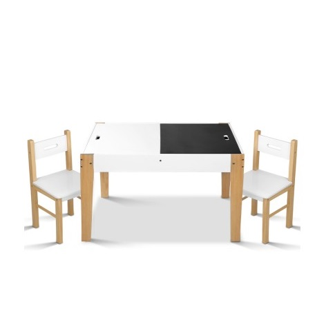 table and chair storage desk