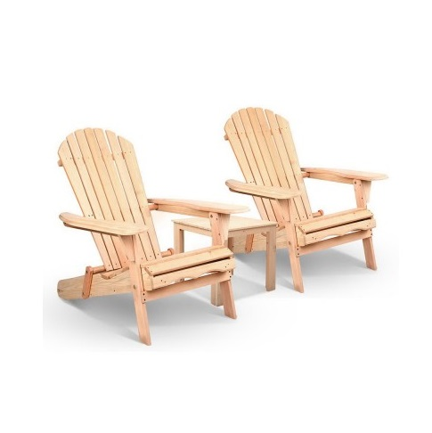 outdoor wooden beach chairs