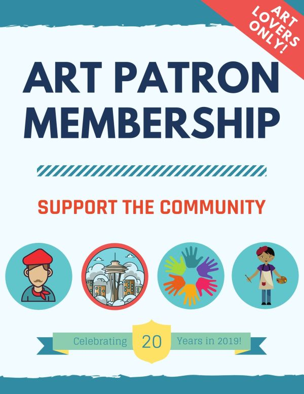 Seattle Artist Art Patron Membership