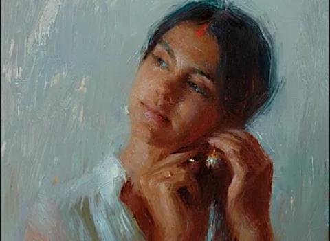 Portrait Painting Workshop with Suchrita Bhose at Whidbey Island Fine Art Studio