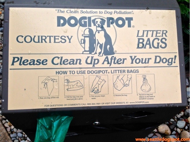 Of course Amazon provides plenty of poop bags for their employees to use.