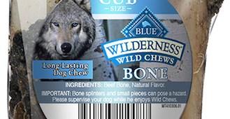 Recalled Blue Buffalo chews bones distributed to PetSmart stores in Washington and Oregon