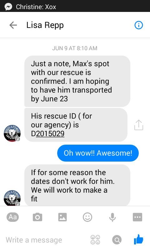 """Storm claimed Max was sent """"against their wishes"""" but this text from June 23 of last year shows otherwise."""