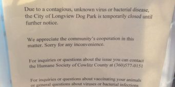 Longview Closes Dog Park After Virus Infects Dozens of Dogs in Cowlitz County