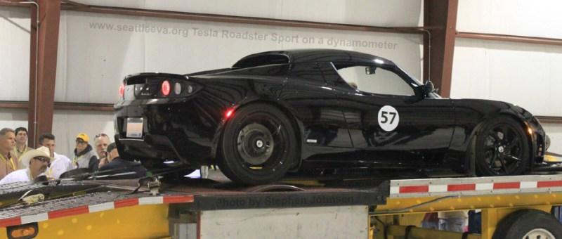 Image of electric racing vehicle