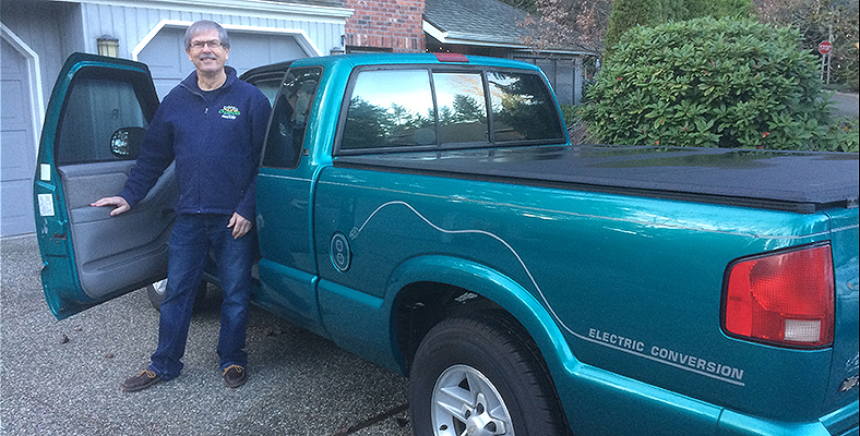 Img of Larry Ryan & His Converted Chevy s-10