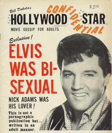 Image result for Elvis and nick adams gay