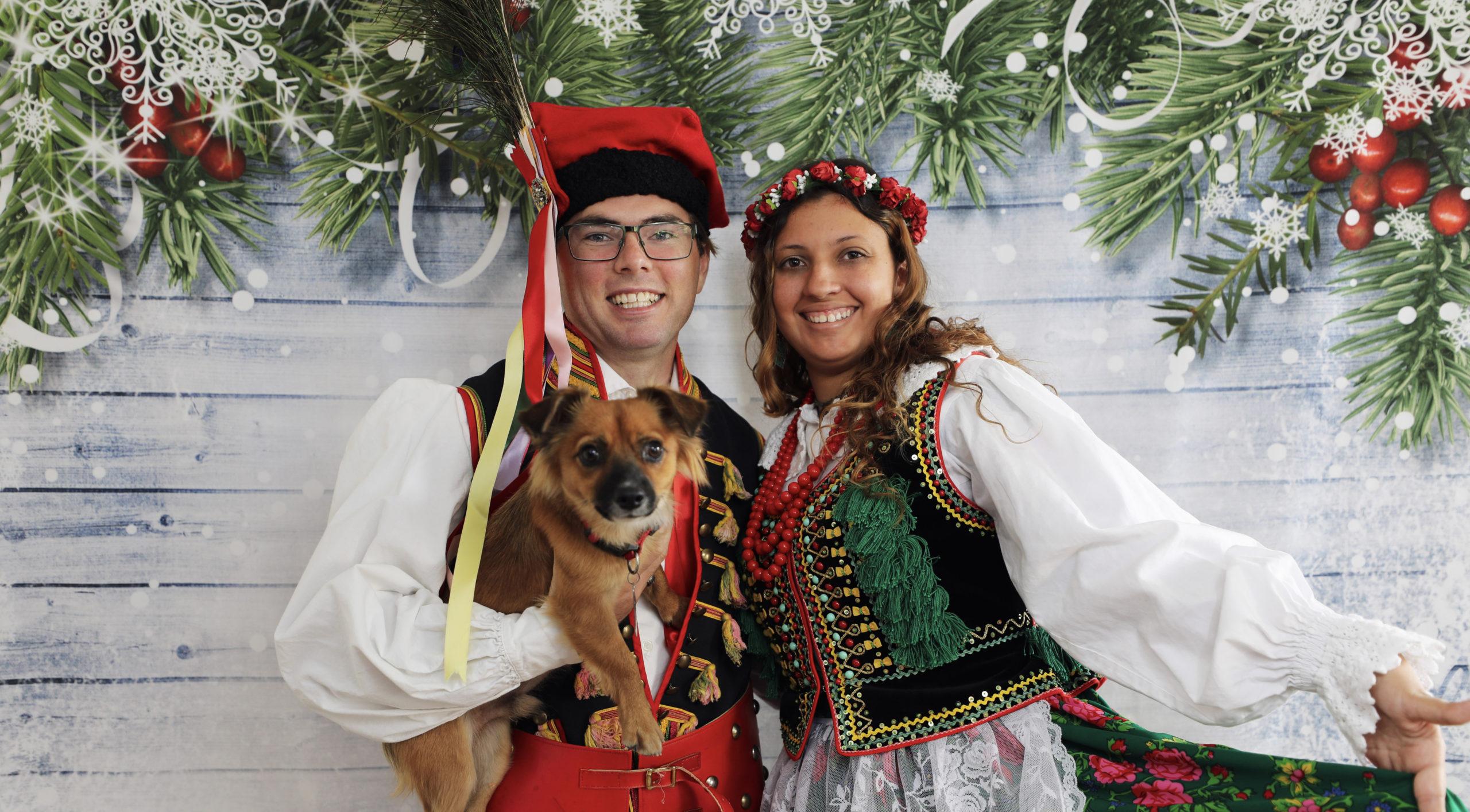 Polish Folk Christmas Card Photoshoot!