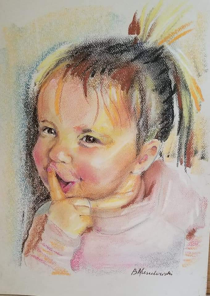 AD: Get a Pastel Portrait for Your Children!