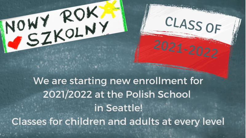 Registration At The Polish School In Seattle