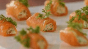 stuffed salmon roulades seattles best catering