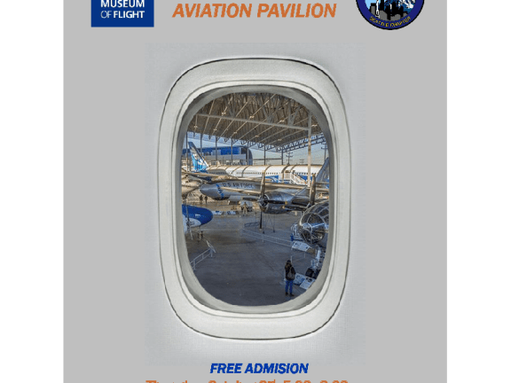 Event poster - October 2019 Free Thursday at the Museum of Flight