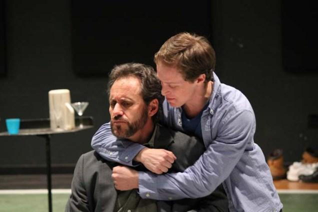David Quicksall as Don Armado and Mickey Rowe as Moth.