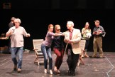 """The cast in rehearsal for """"Much Ado About Nothing."""""""