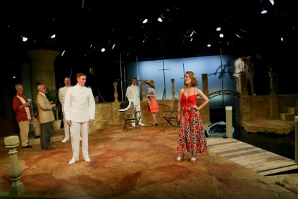 "The cast of Seattle Shakespeare Company's 2013 production of ""Much Ado About Nothing."" Photo by John Ulman."