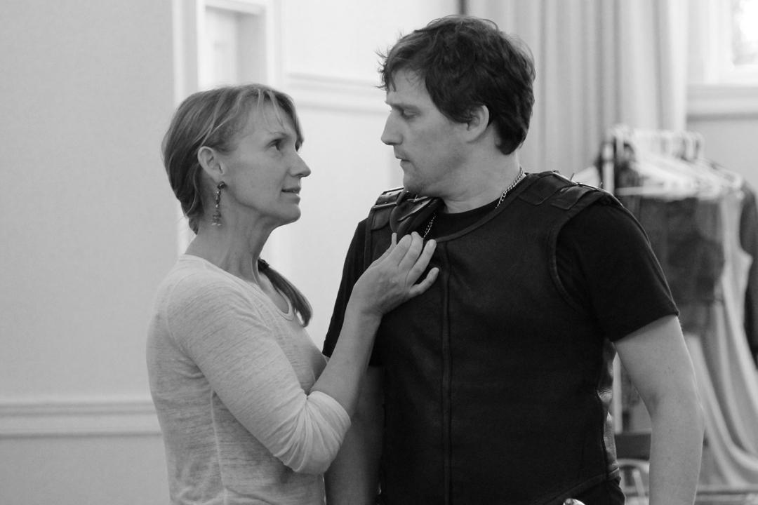 Debra Pralle and Eric Riedmann