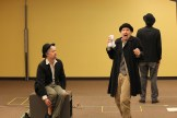 Darragh Kennan as Estragon and Chris Ensweiler as Pozzo