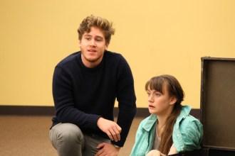 Spencer Hamp as the Sea Captain and Allie Pratt as Viola.