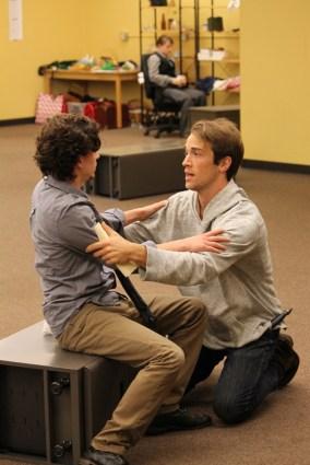 Christopher Morson as Sebastian and Joey Shaw as Antonio.