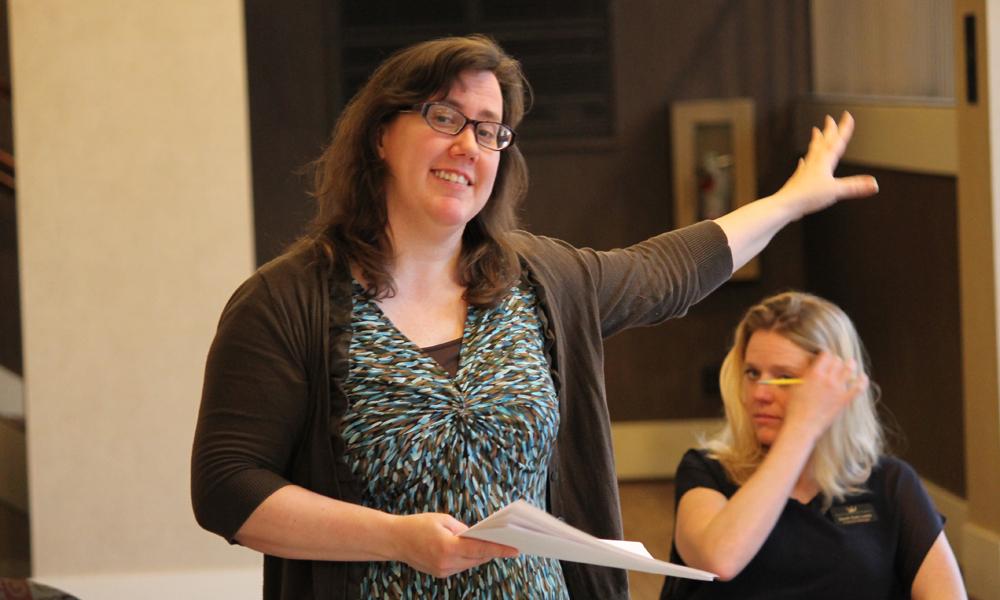 Othello First Rehearsal