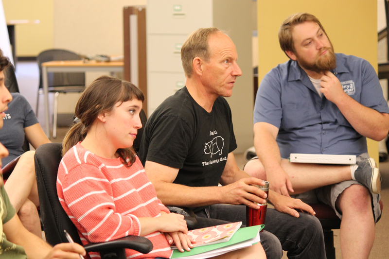 The Comedy of Errors (2015) First Rehearsal