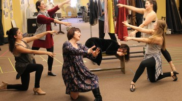 A Sneak Peek at Rehearsals for A Midsummer Night's Dream