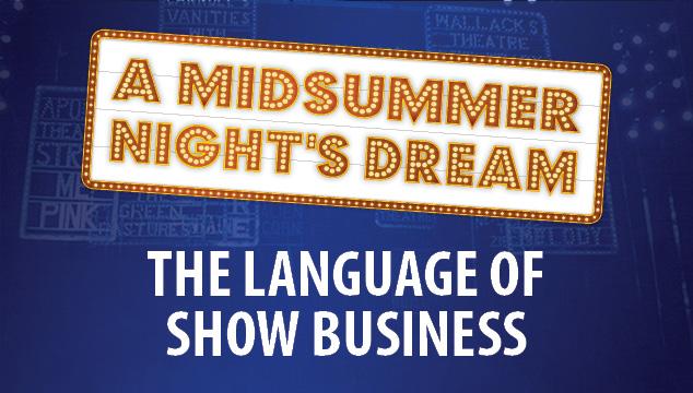 Ghostlight, Limelight, Spotlight…Know the Lingo: Stage