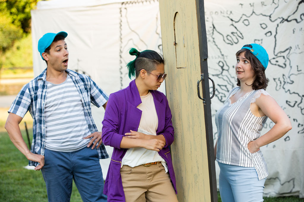 The Comedy of Errors in the parks