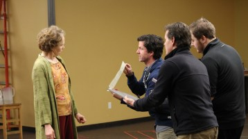 Timon of Athens in Rehearsal