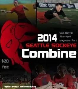Seattle Ultimate Frisbee Sockeye Combine 2014