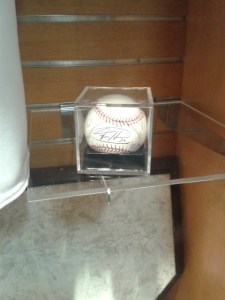 Signed ball ...