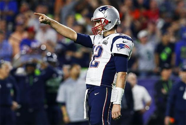 Super Bowl XLIX MVP Tom Brady