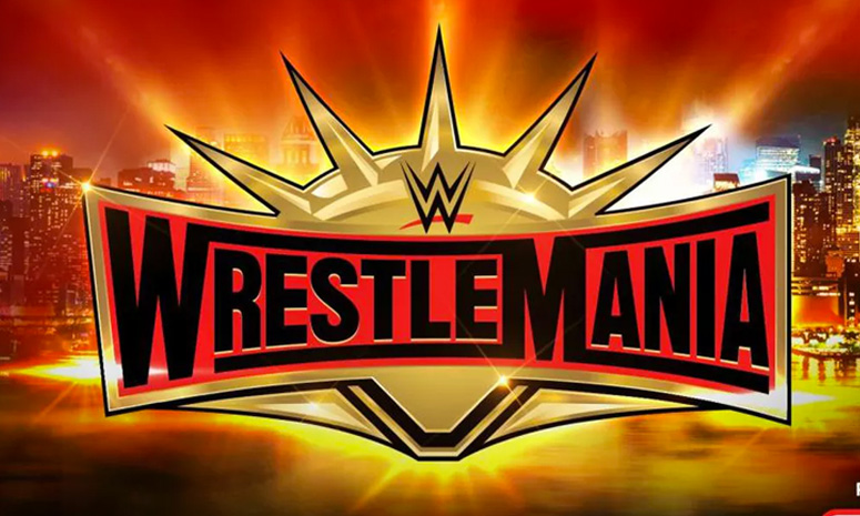 Wrestlemania 35 from MetLife Stadium in East Rutherford, New Jersey (Image Fox Sports)