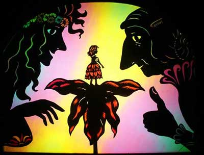 Oregon Shadow Theater's Thumbelina