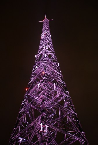 Radiostacja Gliwicka, tallest wooden structure in the world. Photo by Karol K.