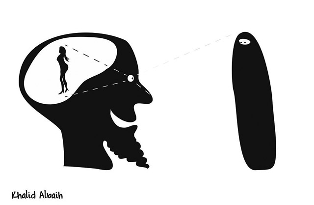 khartoon-niqab