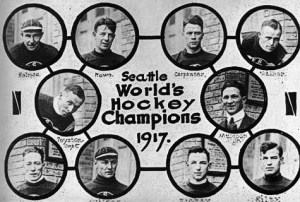 The Stanley Cup-winning Seattle Metropolitans.