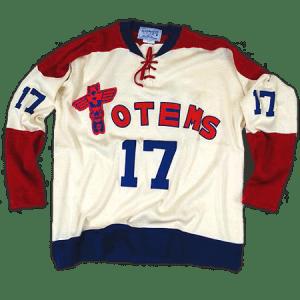 Seattle Totems jersey, circa 1963-64.
