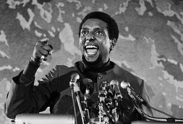 Stokely Carmichael a.k.a. Kwame Touré (1941-1998)