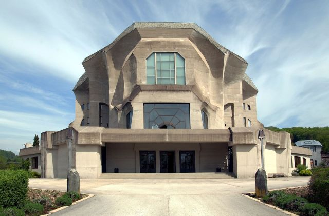 """Goetheanum Dornach"" by Wladyslaw. Licensed under CC BY-SA 3.0 via Wikimedia Commons."