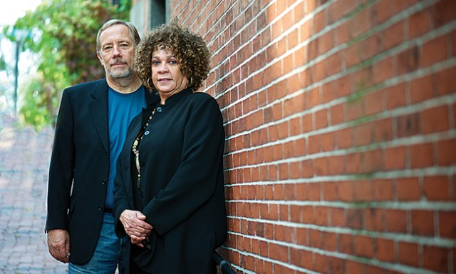 Sharon Leslie Morgan and Thomas Norman DeWolf.Photo by Kristin Little.