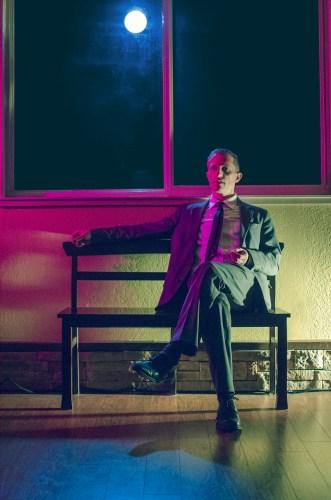 Dr. Glas (Joseph Lavy) contemplates murder. Courtesy of Akropolis Performance Lab.
