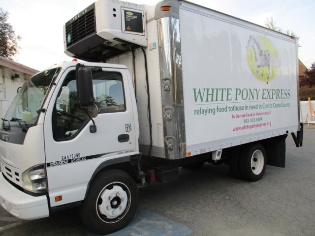 white-pony-express-truck