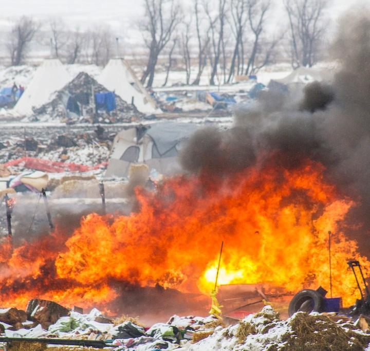 Living Prayer at Standing Rock