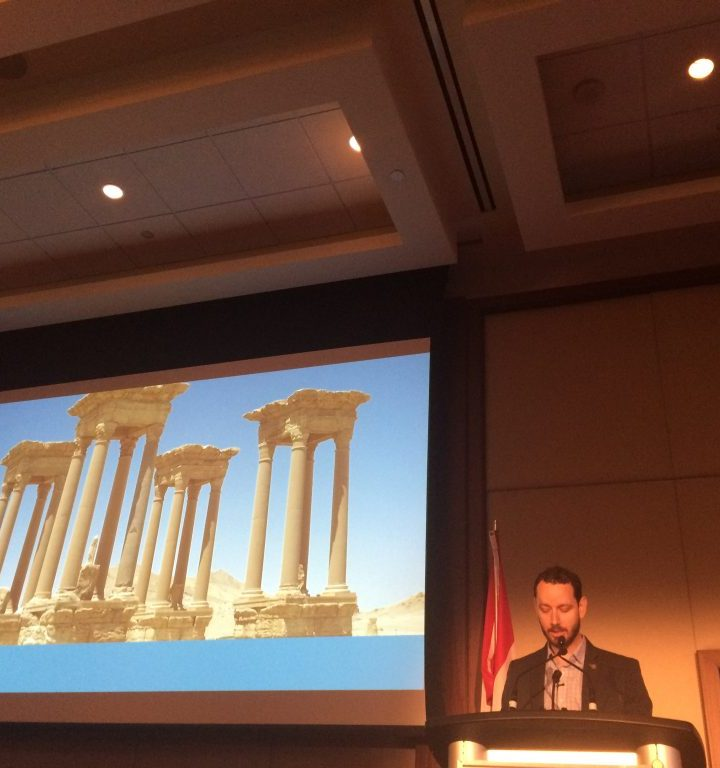 Sharing a Lost City: An innovative collaboration with re:3d and the New Palmyra project