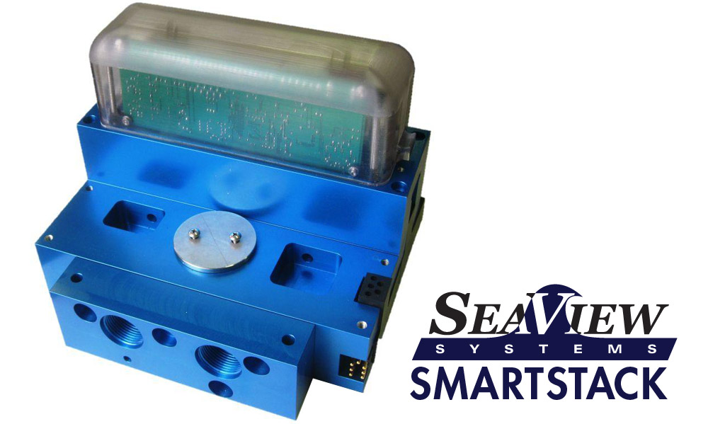 The SeaView Smart Stack valve pack is shown.