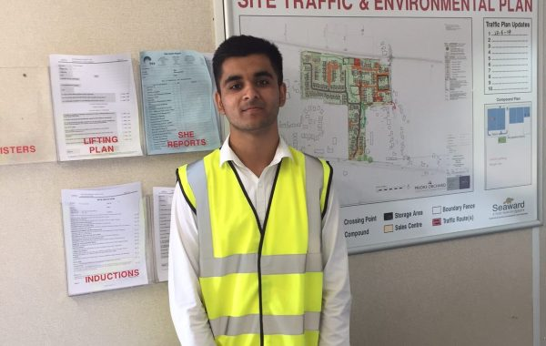 Aaron Baines - Apprentice Site Manager