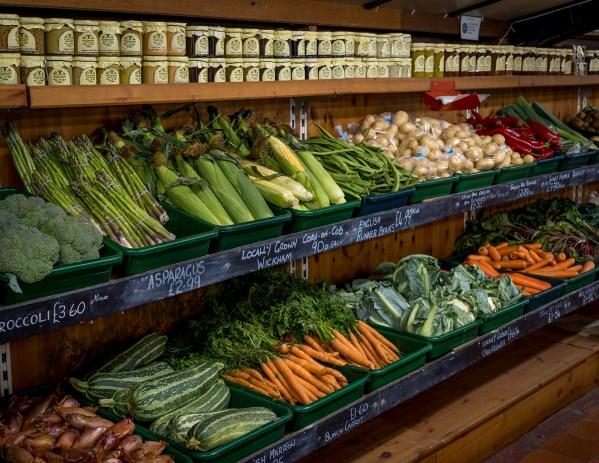 Fresh Produce on the Doorstep