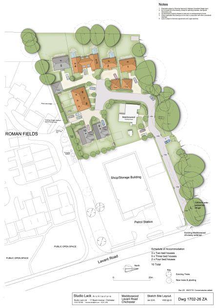 Maddox Wood Dwg 23A Site Layout 100t (1)